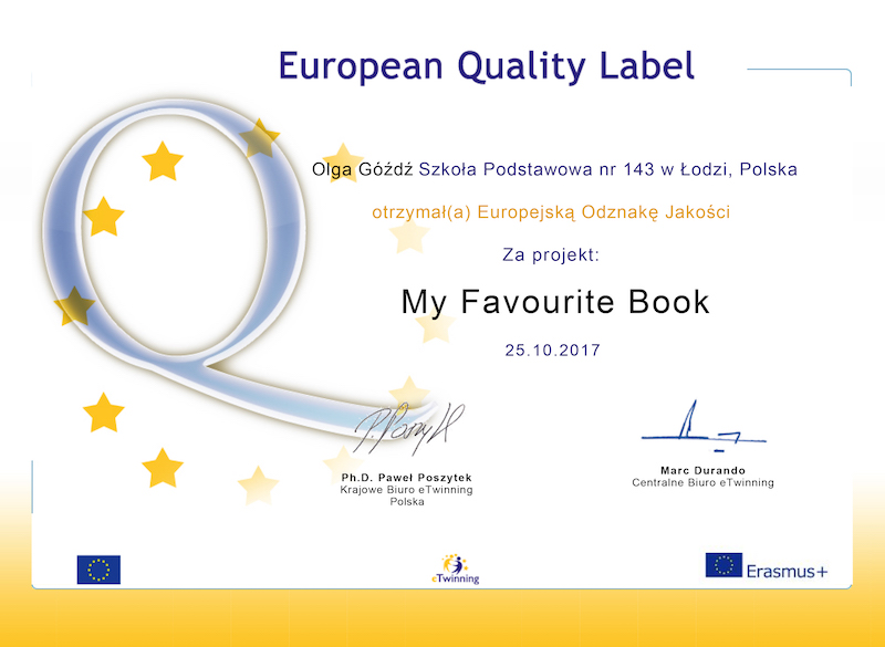 eTwinning European Quality Label