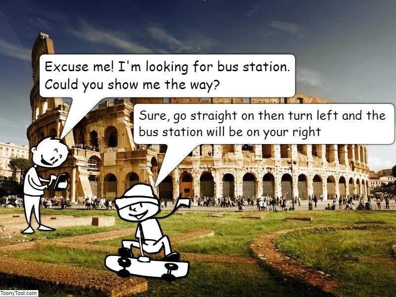 Komiks - praca ucznia 8