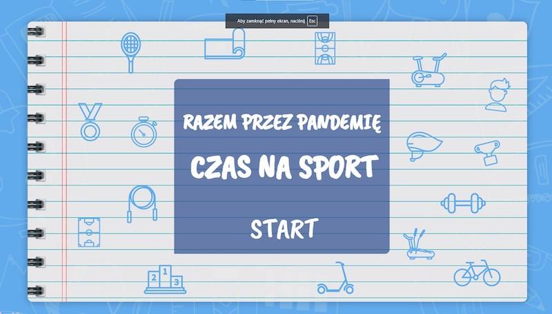 Czas na sport - prace uczniów [1]