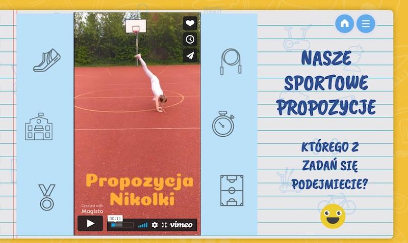 Czas na sport - prace uczniów [3]