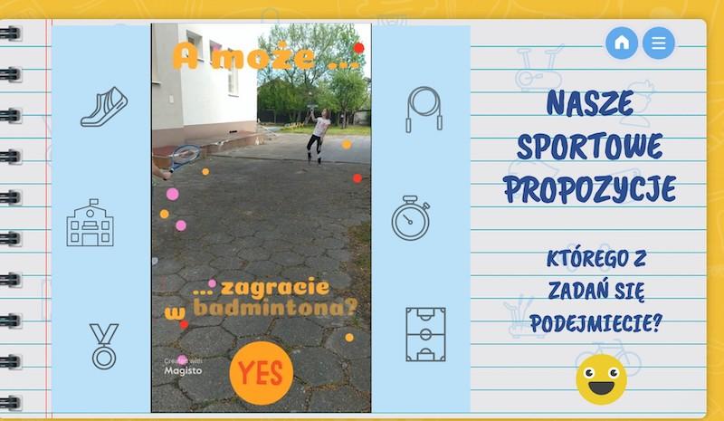 Czas na sport - prace uczniów [4]